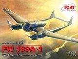 Германский самолет-разведчик FW 189A-1