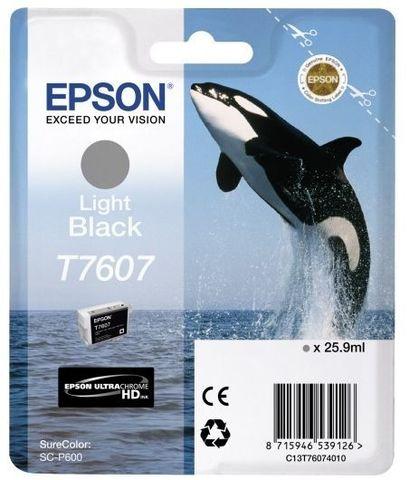 C13T76074010 - Картридж серый Epson SureColor SC-P600
