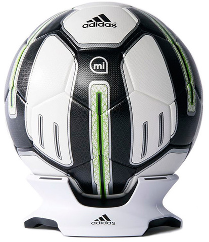Футбольный мяч Adidas miCoach Smart Ball Training