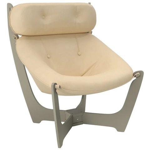 Кресло для отдыха Комфорт Модель 11 серый ясень/Polaris Beige, 013.011