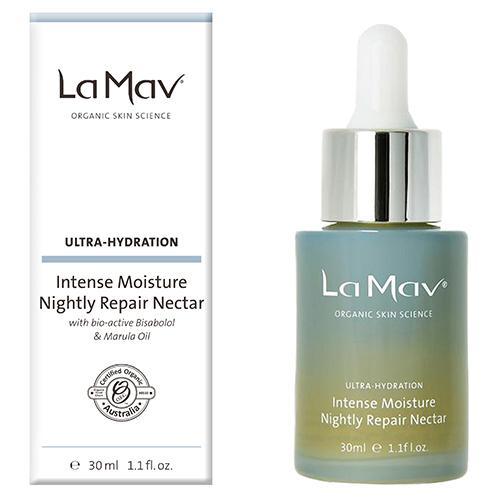 Восстанавливающий ночной нектар для интенсивного увлажнения, La Mav