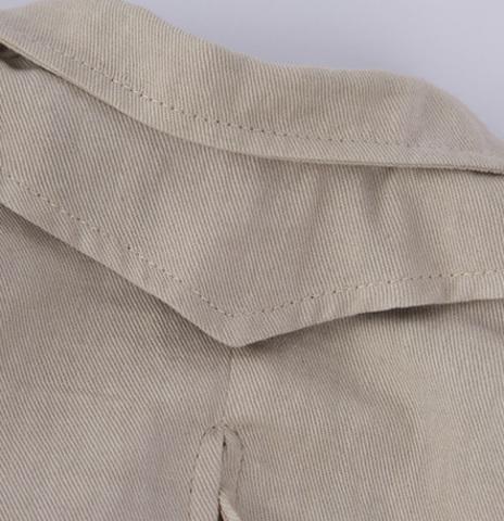 Одежда для малой Зайки Ми Бежевый плащ