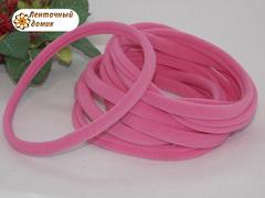 Повязка бесшовная ярко-розовая 10 мм