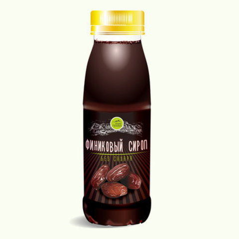 Дары памира сироп из фиников без сахара, ОАЭ 350 г