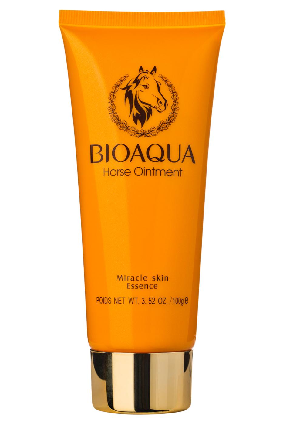 Bioaqua Пенка для умывания c лошадиным жиром Horse Ointment Cleanser, 100 гр