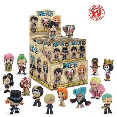 Фигурка Funko Mystery Minis:: One Piece: 12PC PDQ  30608 (1 шт.)