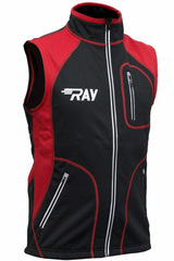 Лыжный жилет RAY STAR WS Black-Red
