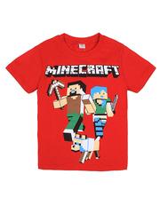 D002-3 футболка для мальчиков, красная