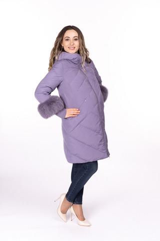 Куртка для беременных 09824 фиалка