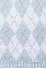 Плед детский 100х150 Luxberry Imperio 252 голубой