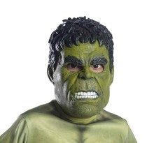 Халк маска детская Мстители