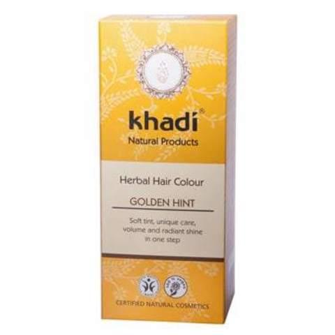 Золотистый оттенок натуральная краска для волос Khadi Naturprodukte