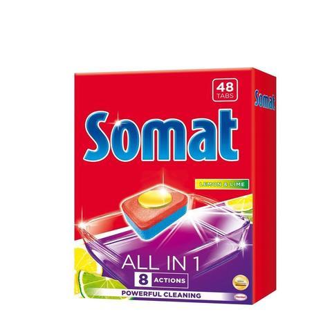 Таблетки для ПММ SOMAT ВСЕ-В-1 ТАБС (48 табл/уп) R18