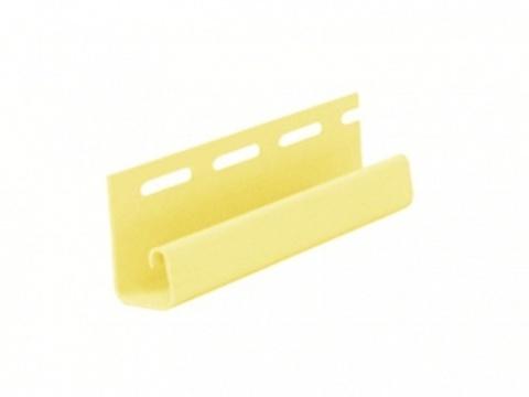 Файнбир J-профиль желтый 3,05 м