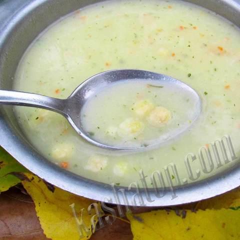 Суп-пюре гороховый с сухариками 'Леовит', 40г - 1 порция