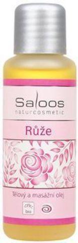 Массажное масло Роза, Saloos