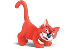 Смурфики Schleich (Шляйх). Кот рыжий
