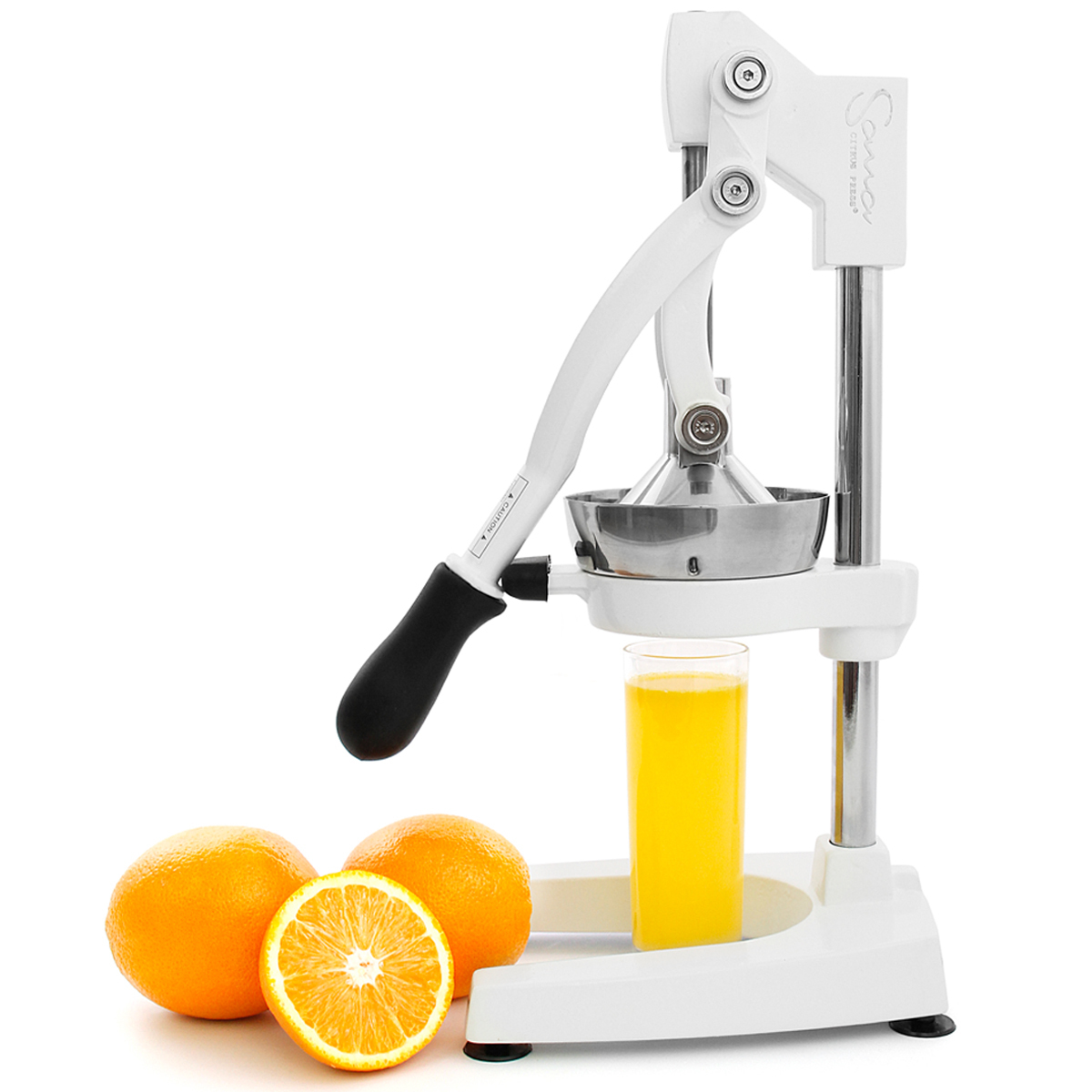 Соковыжималка прессовая Sana Citrus Press белая