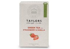 Чай зеленый TAYLORS клубника и ваниль, 20пак