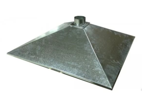 Зонт купольный 600х800/ф160 мм