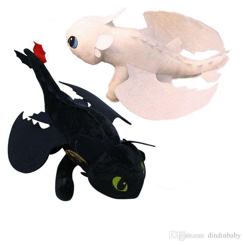 Как приручить дракона 3 игрушка мягкая Беззубик , Дневная Фурия 35 см