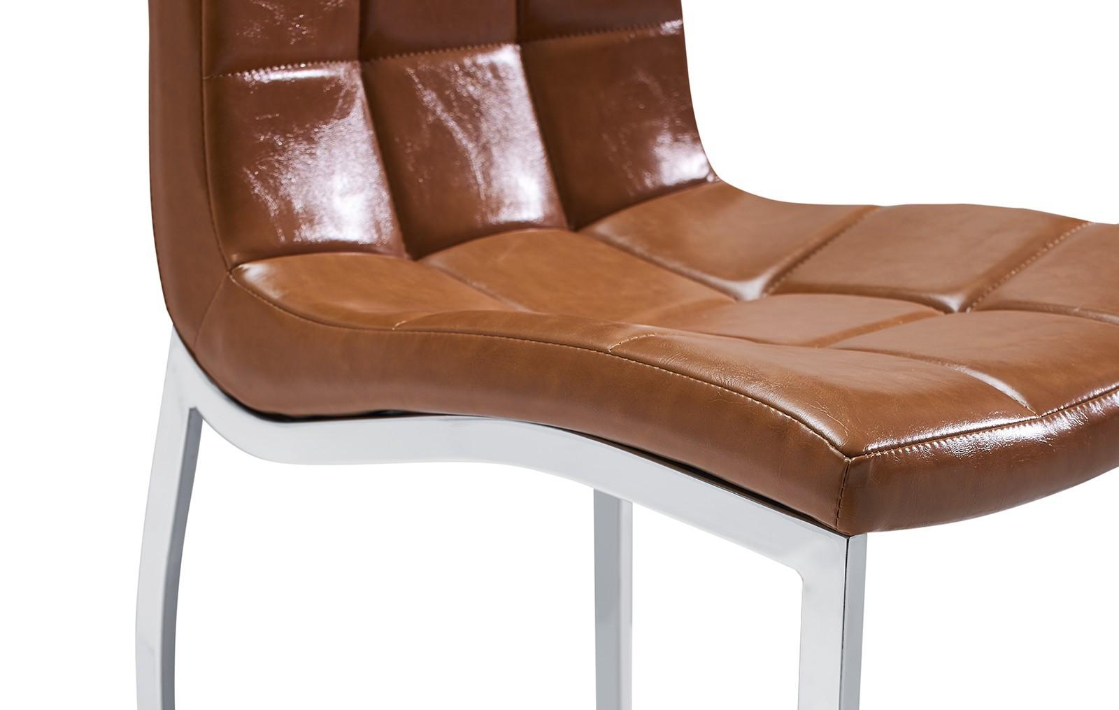 Стул ESF365 коричневый