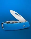 Нож перочинный SWIZA D04 75 мм 11 функций с фиксатором лезвия (D04BLUE)