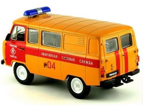 UAZ-3909 Emergency Gas Service Russia 1:43 DeAgostini Service Vehicle #4