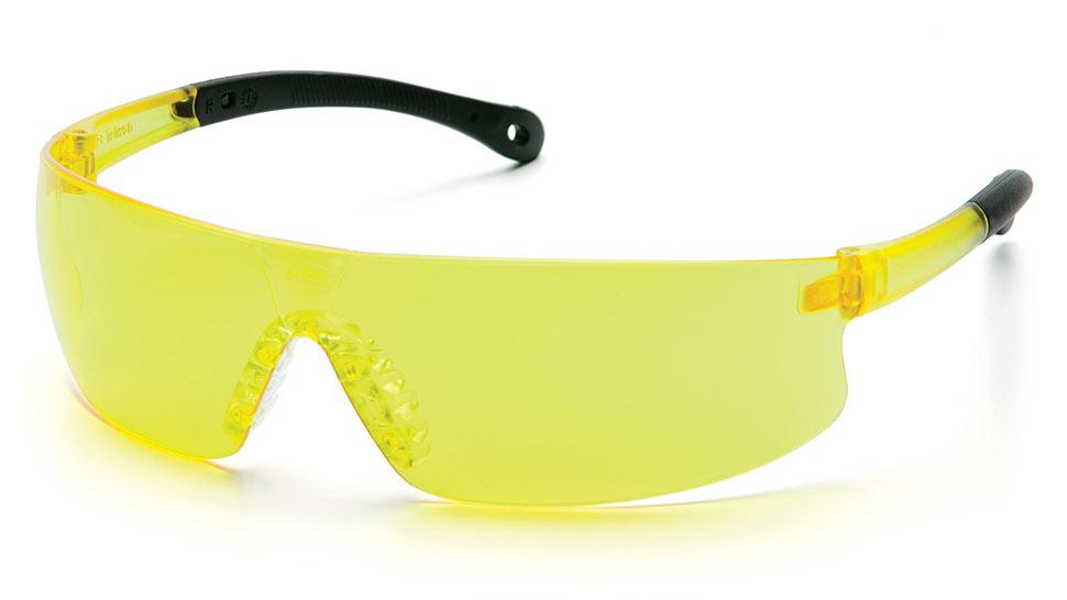 Очки стрелковые Pyramex Provoq S7230S желтые 89%