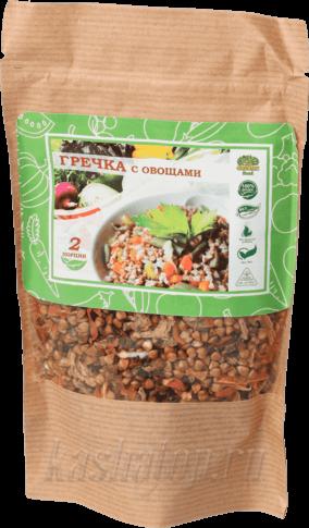 Гречка с овощами 'Organic food'