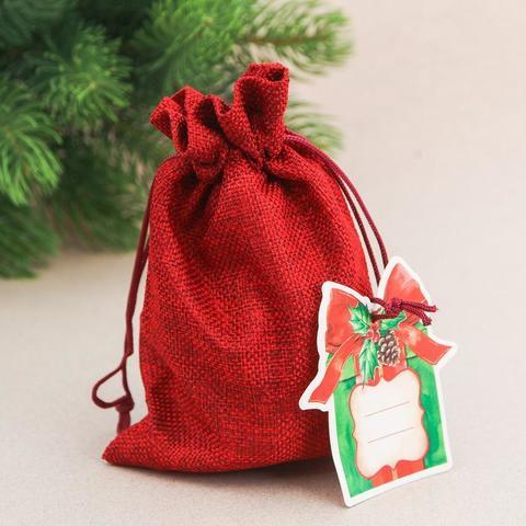 Мешок подарочный «Подарок», 13  18 см