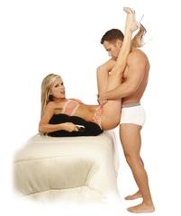 Надувная секс-подушка с ручками