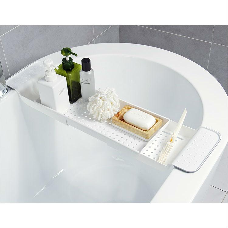 Раздвижная полка для ванны