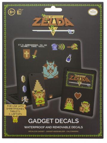 Наклейки бумажные The Legend of Zelda 8 bit
