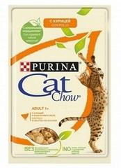 Purina Cat Chow пауч (с курицей в желе)