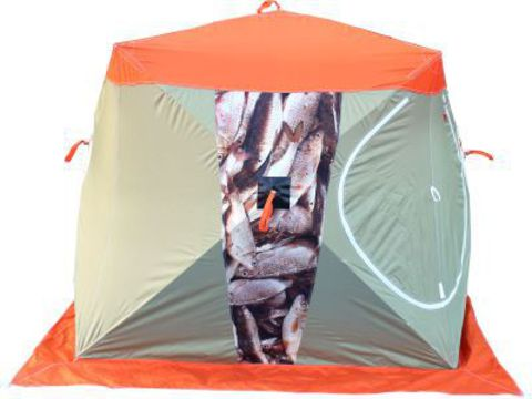 Палатка рыбака Нельма - Куб 1 «Улов» (МИТЕК)