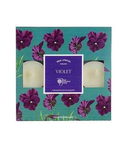 Набор ароматических чайных свечей Цветущая фиалка, Wax Lyrical