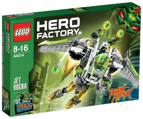 LEGO Hero Factory: Реактивный Рока 44014 — Jet Rocka — Лего Херо Фэктори Фабрика Героев