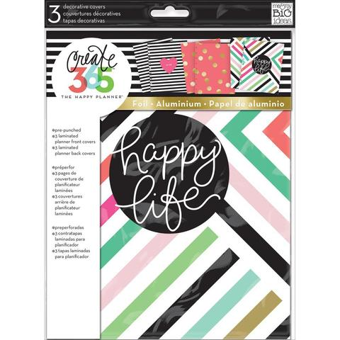 Обложки для ежедневника Create 365 Planner Covers- 3 Sets -3 пары