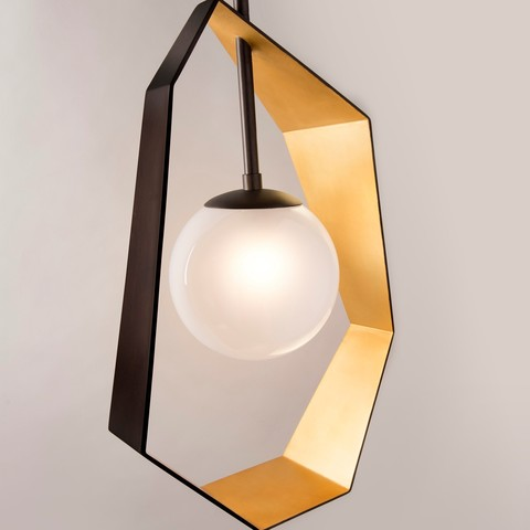 replica light   Hudson Valley ORIGAMI ( GOLD )