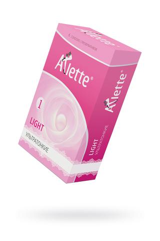 Презервативы ''Arlette'' №6, Light Ультратонкие 6 шт. фото