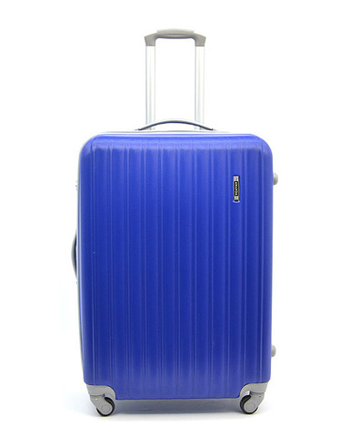 Чемодан Ananda APL-833-BLUE-М Синий