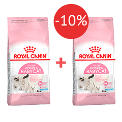 2 кг + 2 кг - 10% Royal Canin Mother&Babycat