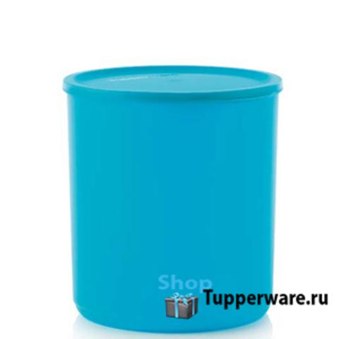 контейнер цилиндрикс 1,1 л в голубом цвете