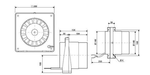 Канальный вентилятор Soler&Palau TDM300