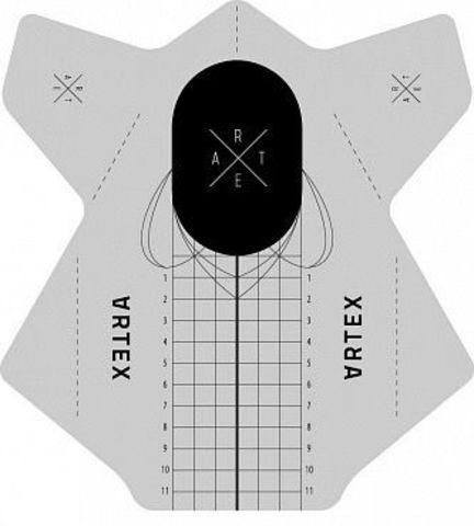 ARTEX Формы прямоугольные универсальные (средней жесткости) 100 шт. 07130015-100