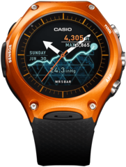 Умные часы Casio WSD-F10RG Smart Outdoor Watch