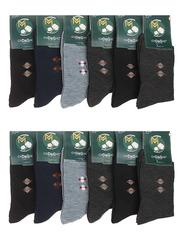 2507 носки мужские, цветные 41-47 (12шт)