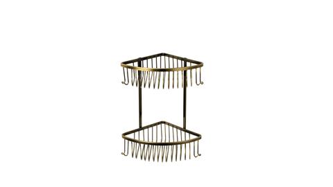 Полка угловая двухэтажная FX-858-2