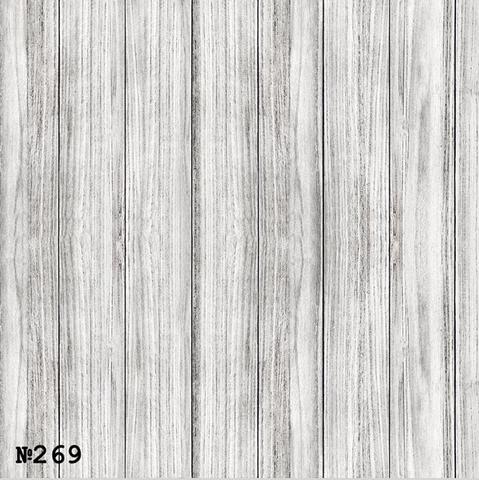 Фотофон виниловый «Светло - серые доски» №269